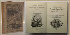 Korb-Döbeln Liederbuch für Aerzte und Naturforscher 1890 Liederbuch Gesang xy