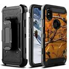 For Apple iPhone Xs Max | iPhone Xs Max Triple Layer Kickstand Case - Tough Arts