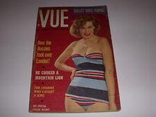 VUE Magazine, America's Photo Digest, October, 1953, World's Loveliest Legs!