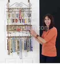 Longstem#7100 Bronze Over the Door 300 pc Jewelry Organizer Valet ~ Rated Best
