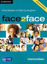CAMBRIDGE Face2face Intermediate SECOND EDITION Class Audio CD's (3) @NEW@