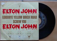 ELTON JOHN DJM17616 GOODBYE YELLOW BRICK ROAD / SCREW YOU