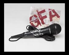 Lmfao Party Rock Redfoo & Blue Sky Firmado Micrófono Coa GFA a Prueba De