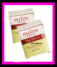 2  BAGS (50) FALCON 6MM FILTERS FOR FALCON COOLWAY PIPE