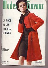 modes et travaux numero 802 - octobre 1967