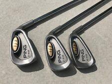 3 Ping i3 O-Size (Oversize) 4,5,6 iron JZ stiff steel shaft blue dot R/H CLUBS
