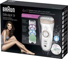 Braun Silk-Epil 9 9-961V Skin Spa Epilatore Elettrico senza Fili Wet & Dry