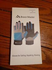 Brace Master Sailing Gloves Men/Women Sailing, Fishing, Boating, Kayaking Med A9