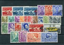 Schweiz o - aus  1936 - 37  -  KW 157, --  ( 13822 )