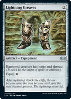 Lightning Greaves - Foil x1 Magic the Gathering 1x Double Masters mtg card