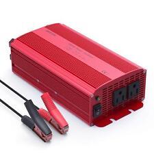 BESTEK 1000W Car Power Inverter DC 12V to AC 110V 120V With Dual Outlets Adapter