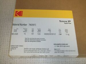 Heidelberg Printmaster 52 Digital Plates Kodak Sonora XP Box of 100............