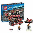LEGO City Great Vehicles 60084: Racing Bike Transporter Race Driver Minifigures