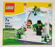 LEGO BRIDE & GROOM (40165) - WEDDING FAVOR, CAKE TOPPER, TABLE DECORATION - NIB