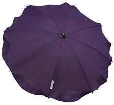 Universal Baby UMBRELLA waterproof Fit Mountain Buggy    Dark purple