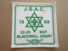 JSAC 1998 Blackwell Court Cloth Patch Badge Boy Scouts Scouting L4K B
