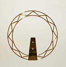 Aureola Stellario in Ottone Dorato Per Statua Sacra diametro cm. 21