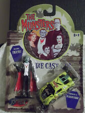 Joy Ride The Munsters Race Car and Grandpa Figure - 1:64 Scale