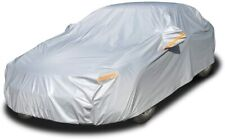 6-layer car cover is all-weather waterproof, full outdoor coverage, sun-proof