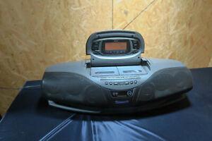 Vintage Panasonic RX-DT75 Cobra Boombox Portable Stereo CD Cassette Deck Radio