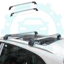 Aluminum Baggage luggage Roof Rack Rail Trim For Suzuki S-Cross 2014-2017 RB