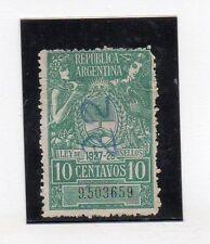Argentina Valor Fiscal del año 1927-28 (CR-485)