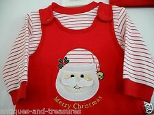 First Impressions Christmas Baby 2 Pc. Red & White Set  3-6 Months (12-17 lbs.)