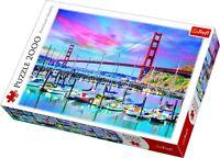 Trefl 2000 Piece Adult Large Golden Gate Bridge San Francisco Jigsaw Puzzle NEW