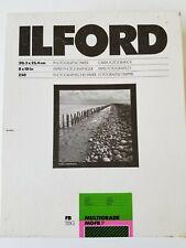 """Ilford Multigrade Mgfb.1P photopaper 8"""" x 10"""" 250 count open box. Read!"""