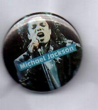 MICHAEL JACKSON Bad, Thriller, Beat It BUTTON BADGE 80s ERA KING OF POP 25mm Pin