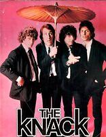 THE KNACK 1979 GET THE KNACK TOUR CONCERT PROGRAM BOOK BOOKLET / VG 2 EX