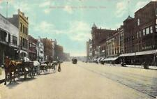 Main Street Scene Looking South, Akron, Ohio 1911 Vintage Postcard