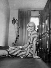 8x10 Print Jean Harlow MGM by Clarence Bull 1932 #JH2