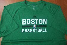 Adidas NBA Boston Celtics Basketball Climalite Performance On Court T-Shirt XL