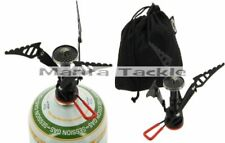 NGT Carp Camping Cooking Screw On Lightweight Compact Stove + 230g Gas Canister