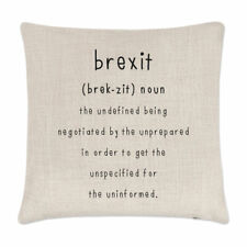 Brexit The Undefined Cushion Cover Pillow Funny Political Britain Europe EU