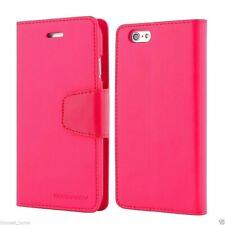 iPhone 6 Plus & 6s Plus Genuine MERCURY Goospery Hot Pink Flip Case Wallet Cover