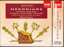 MASSENET: HERODIADE Cheryl Studer Nadine Denzie Ben Heppner Hampson PLASSON 3CD