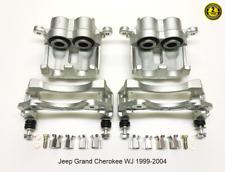 Jeep Grand Cherokee Wj 2 X Vorderrad Bremssattel Komplett 1999-2004 Akebono