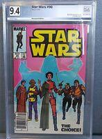 Star Wars #90 Marvel Comic PGX 9.4