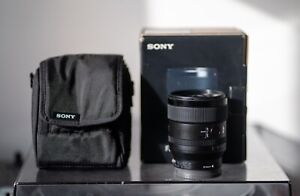 Used Sony FE 24mm f/1.4 GM Camera Lens - Black - Excellent Condition