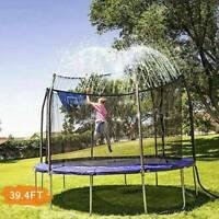 39.4FT Trampolin Water Sprinkler Outdoor Kids Wasser Spiele -Kostenloser Versand