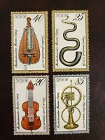Germany DDR - 1979 - Musical Instruments in Leipzig Museum. MNH