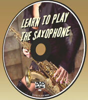 LEARN SAXOPHONE SIMPLE BEGINNERS LESSONS DVD PLAY THE SAXAPHONE NEW SAX GUIDE