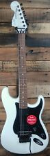 Squier Fender Contemporary Strat HH Reverse Electric Guitar Olympic White NEW
