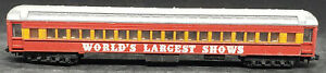 """N Scale LIMA: """"World's Largest Shows"""" OBSERVATION COACH, VINTAGE ITALY"""