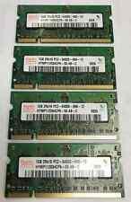 4GB (4x1GB) Hynix DDR2-667 PC2-5300 2Rx16 Laptop SODIMM HYMP112S64CP6-Y5