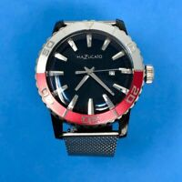 New Mazzucato Ego Men's Watch Ego Tistic Customisable with Red Bezel