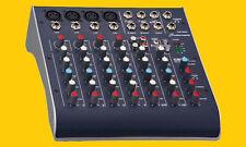 Studiomaster C2S-4 USB 8-Kanal-Ultra Kompakt Mini Mixer Mischpult NEU-OVP !
