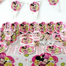 Minnie Mouse Disney Birthday Party Decorations Supplies Set